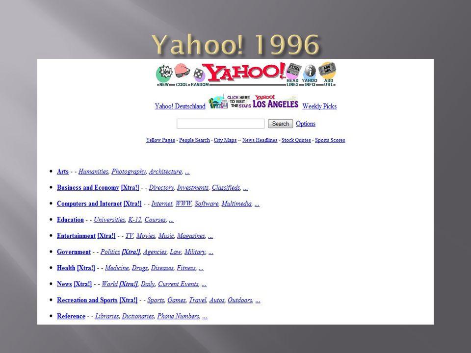 Yahoo! 1996
