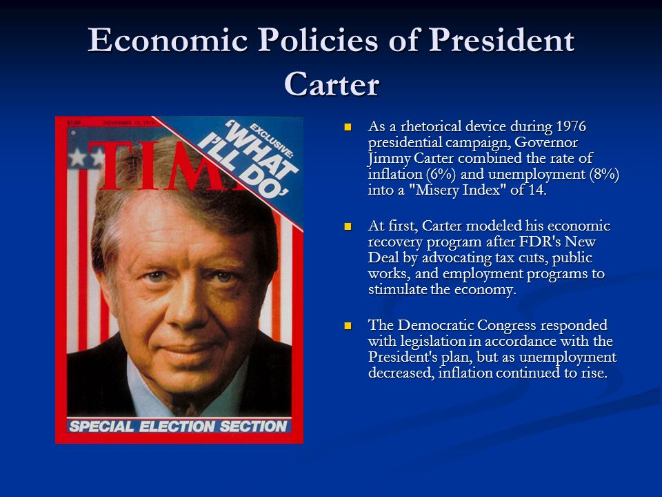 Economic Policies of President Carter