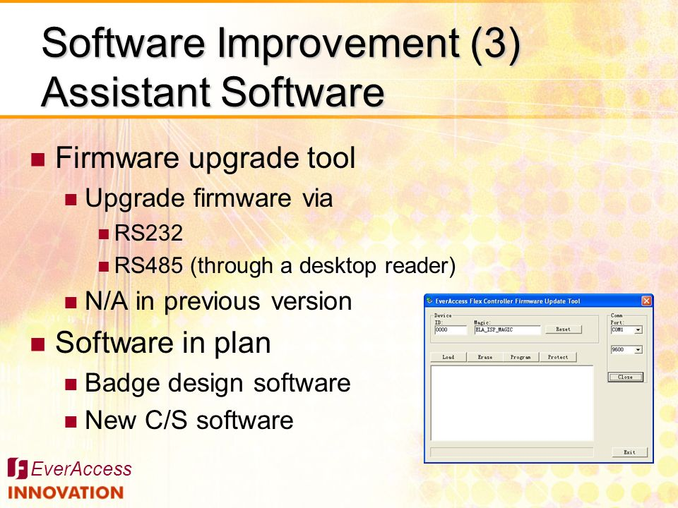 Software Improvement (3) Assistant Software