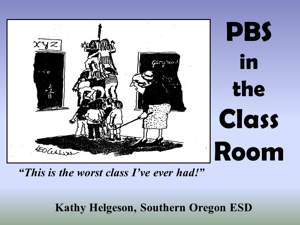 Kathy Helgeson, Southern Oregon ESD