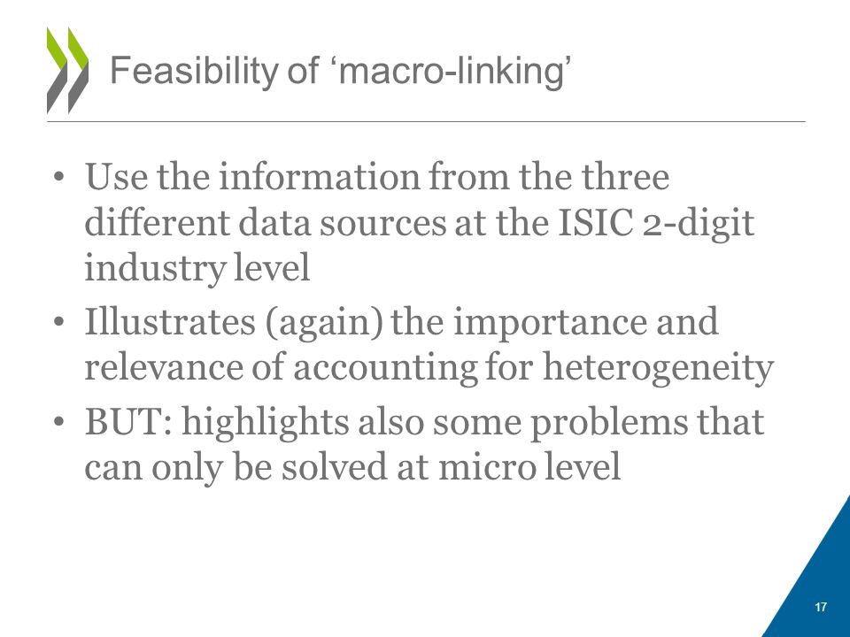 Feasibility of 'macro-linking'