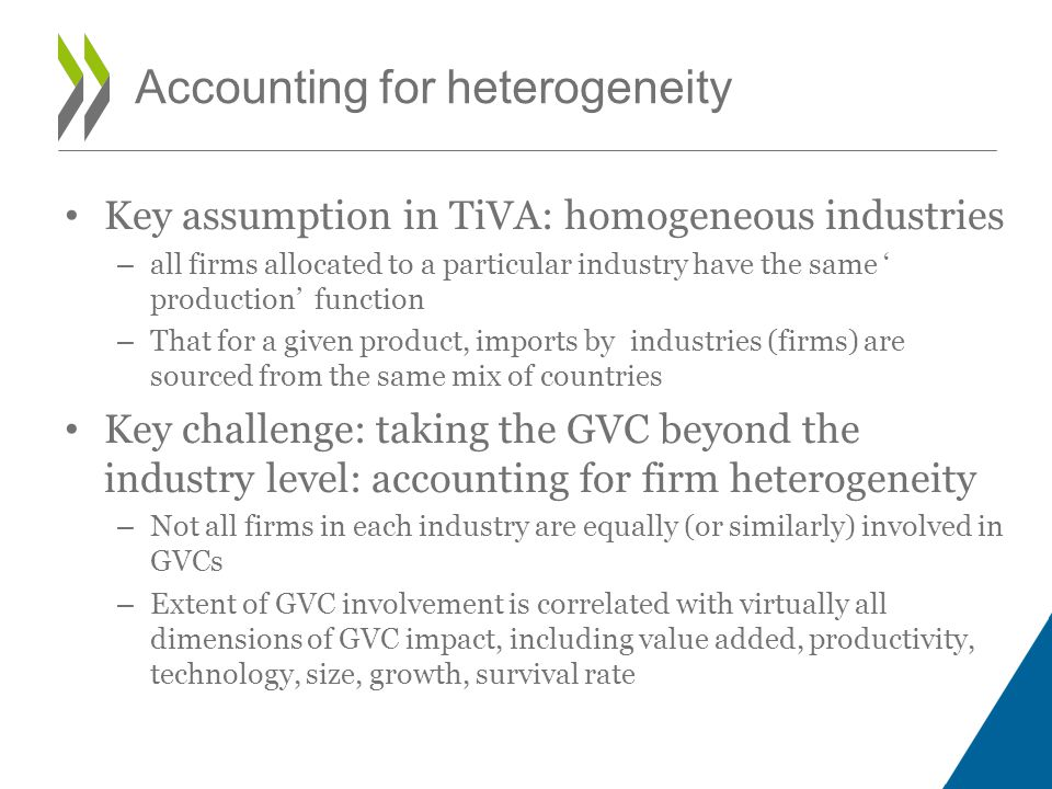 Accounting for heterogeneity