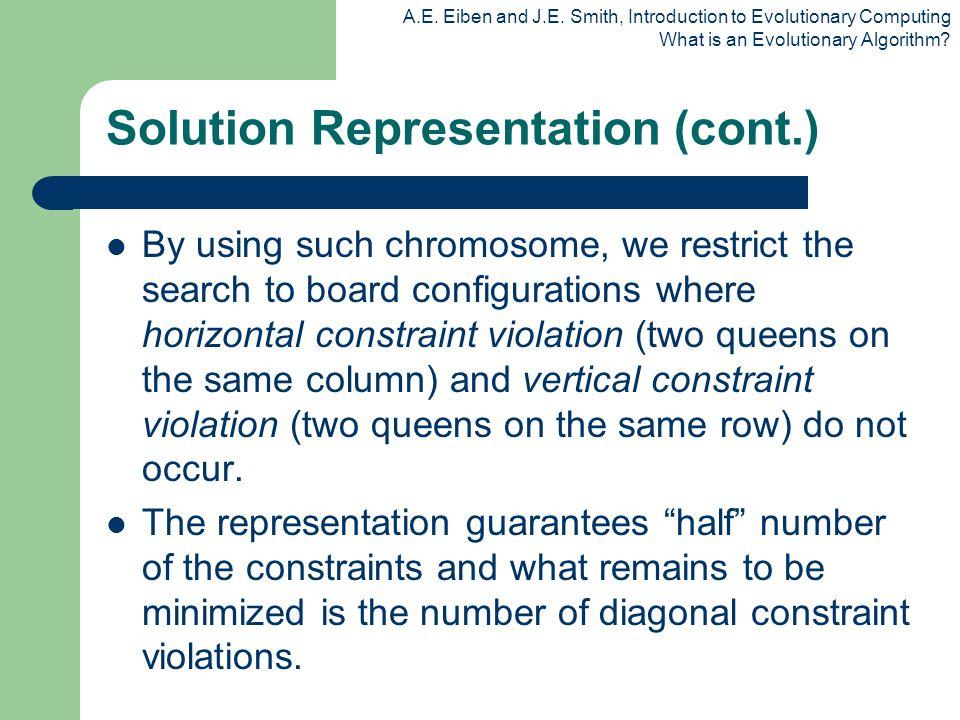 Solution Representation (cont.)