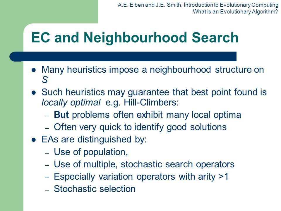 EC and Neighbourhood Search