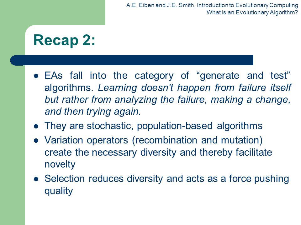 Recap 2:
