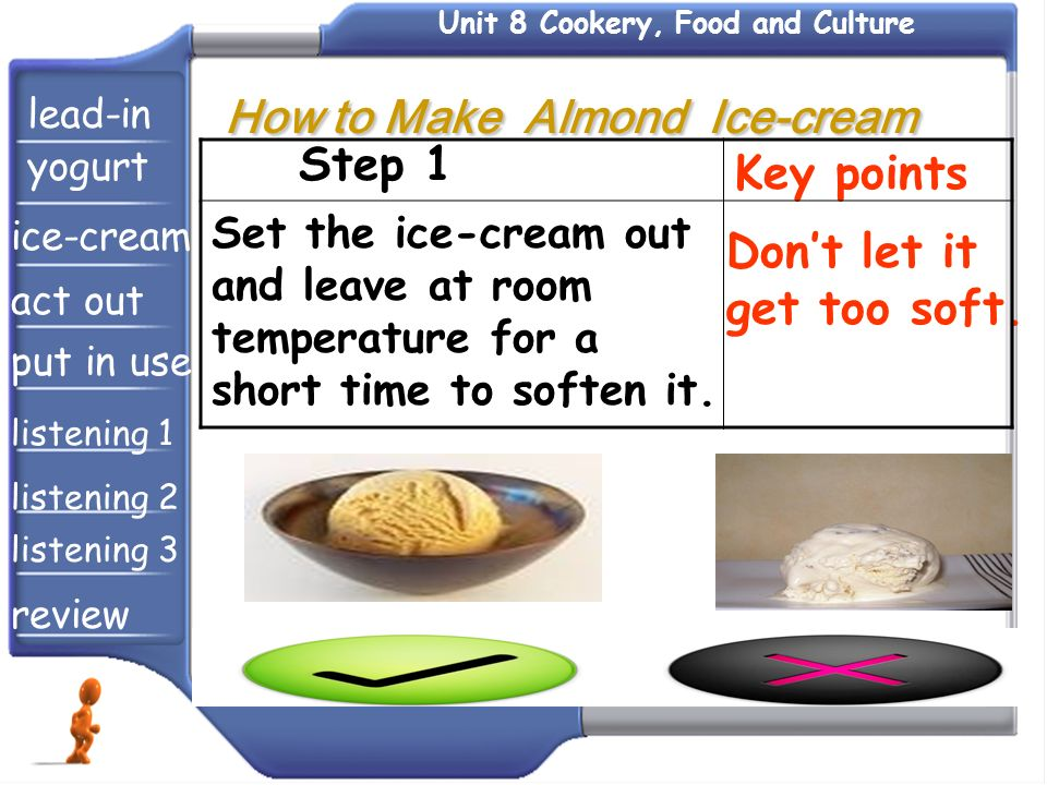 Unit 8 Cookery, Food and Culture