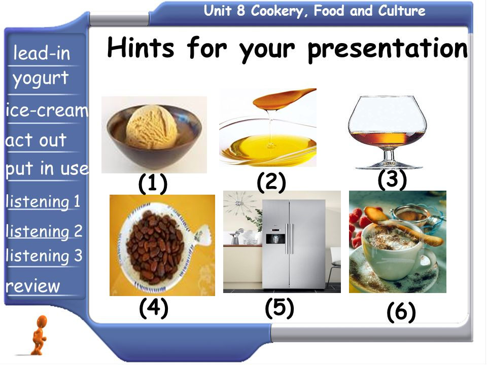 Hints for your presentation