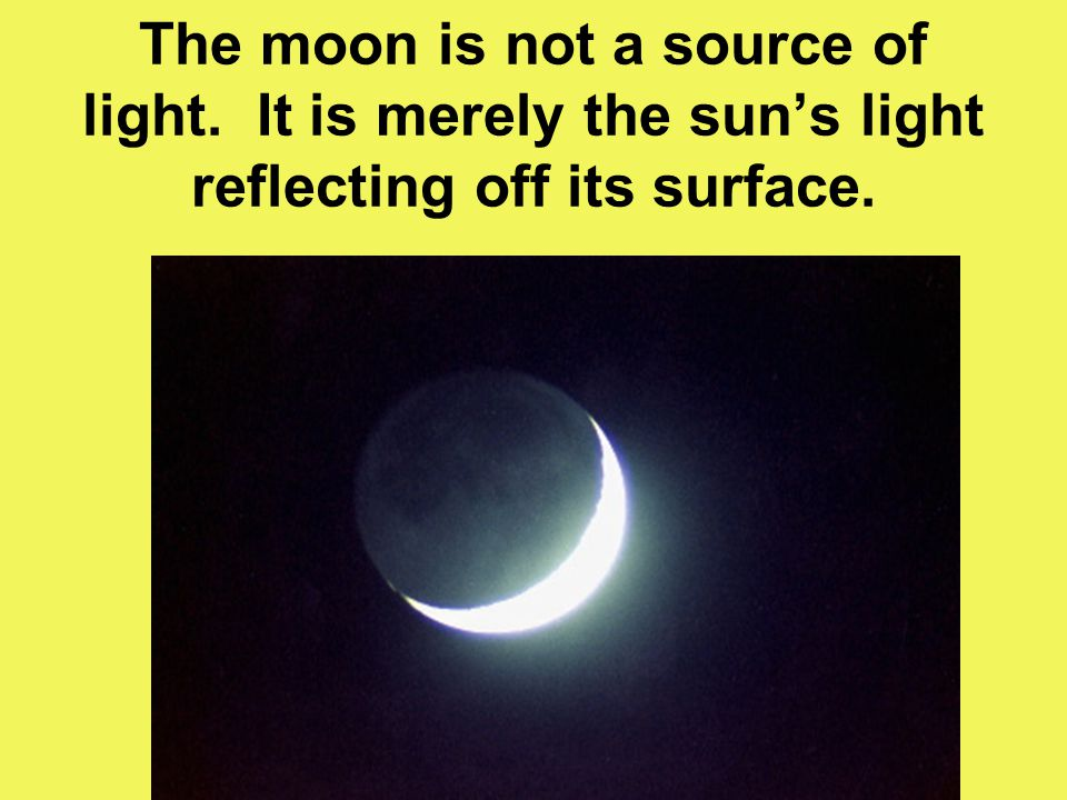Is The Moon A Natural Light Source