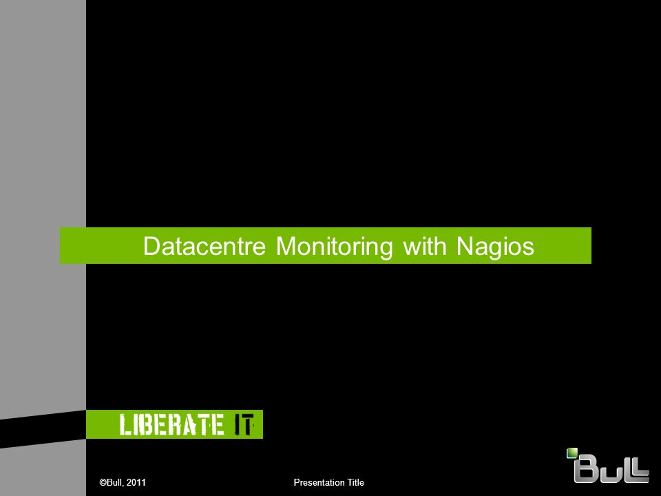 Datacentre Monitoring with Nagios