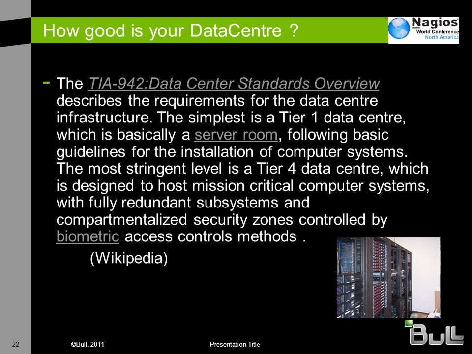 How good is your DataCentre
