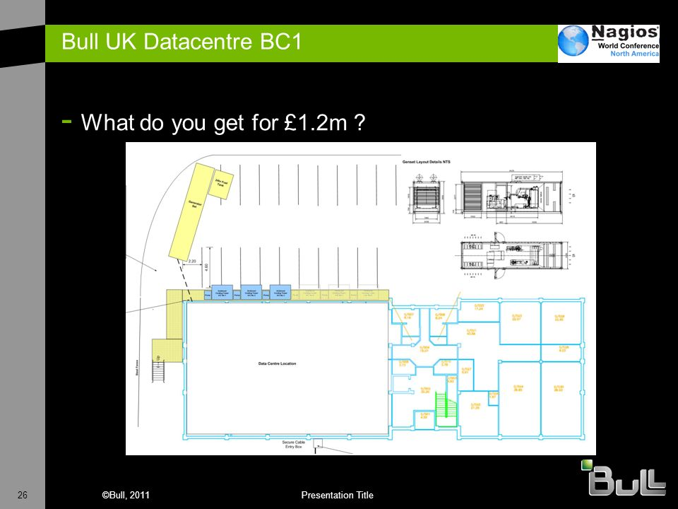 Bull UK Datacentre BC1 What do you get for £1.2m
