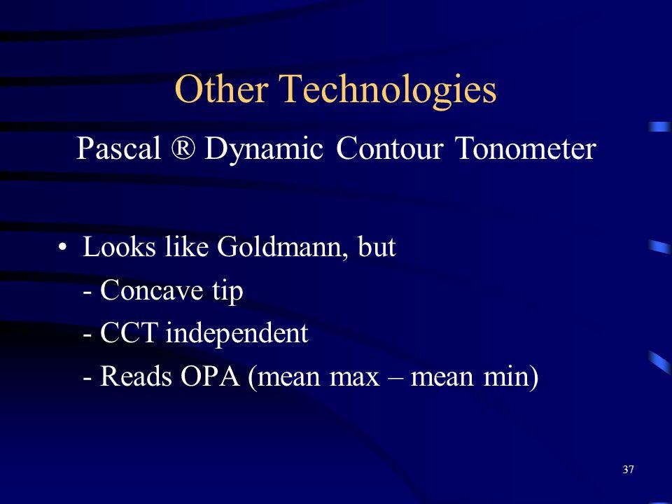 Pascal ® Dynamic Contour Tonometer