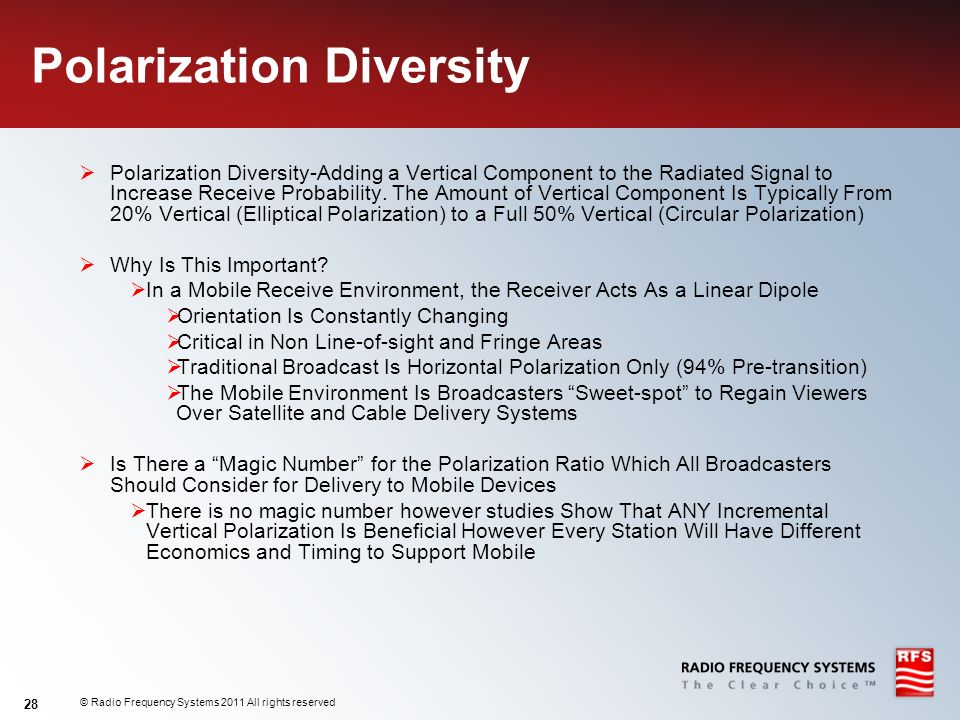 Polarization Diversity