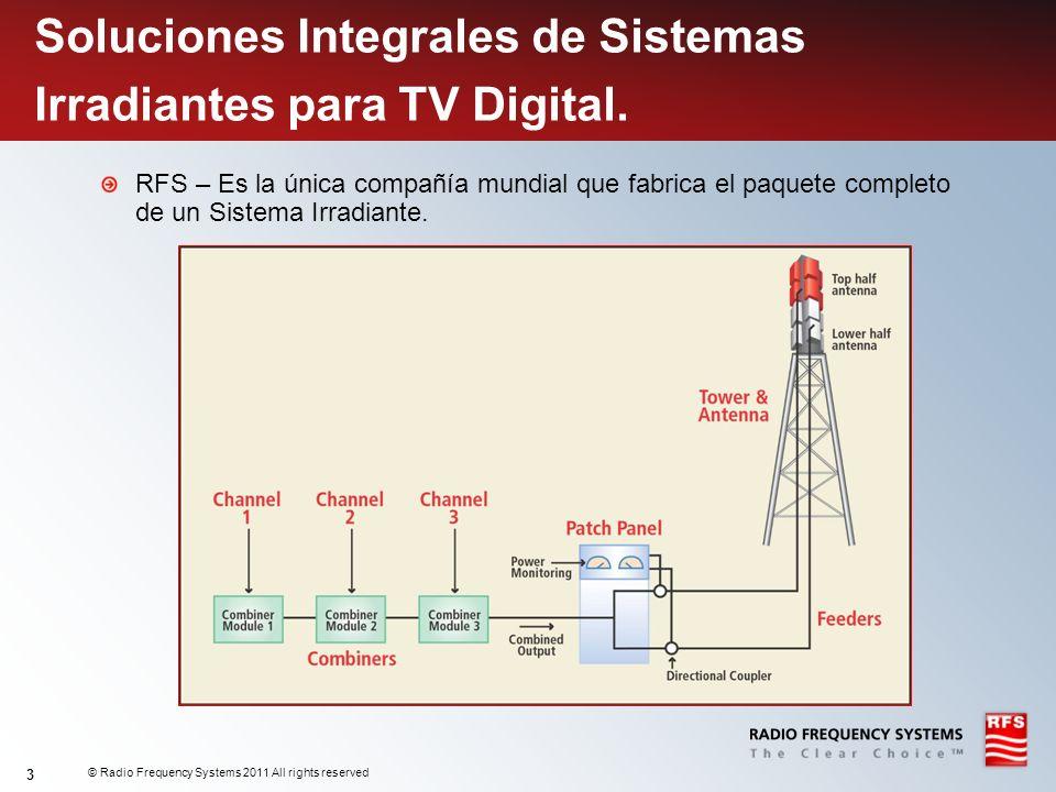 Soluciones Integrales de Sistemas Irradiantes para TV Digital.