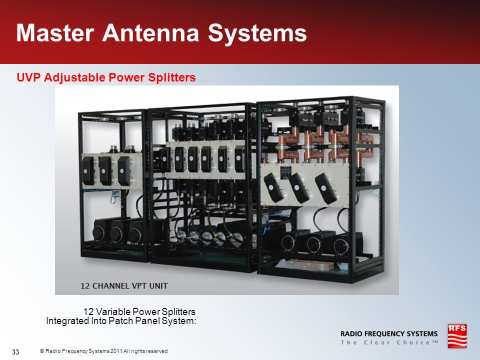 Master Antenna Systems
