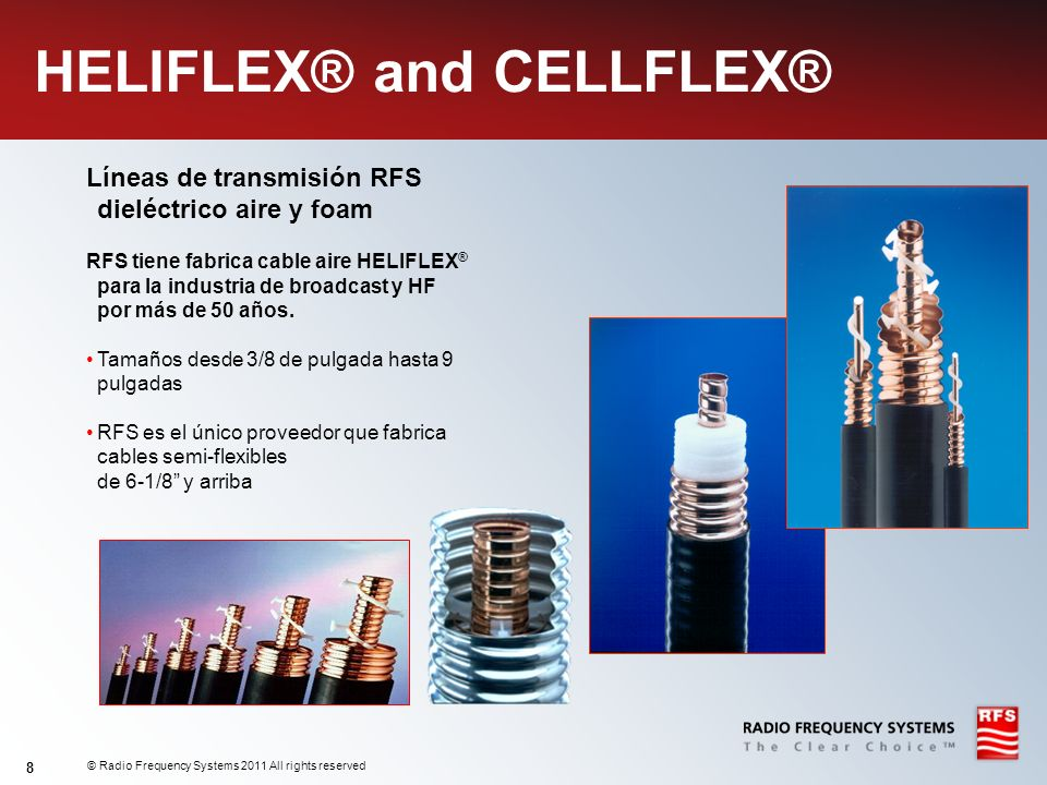 HELIFLEX® and CELLFLEX®