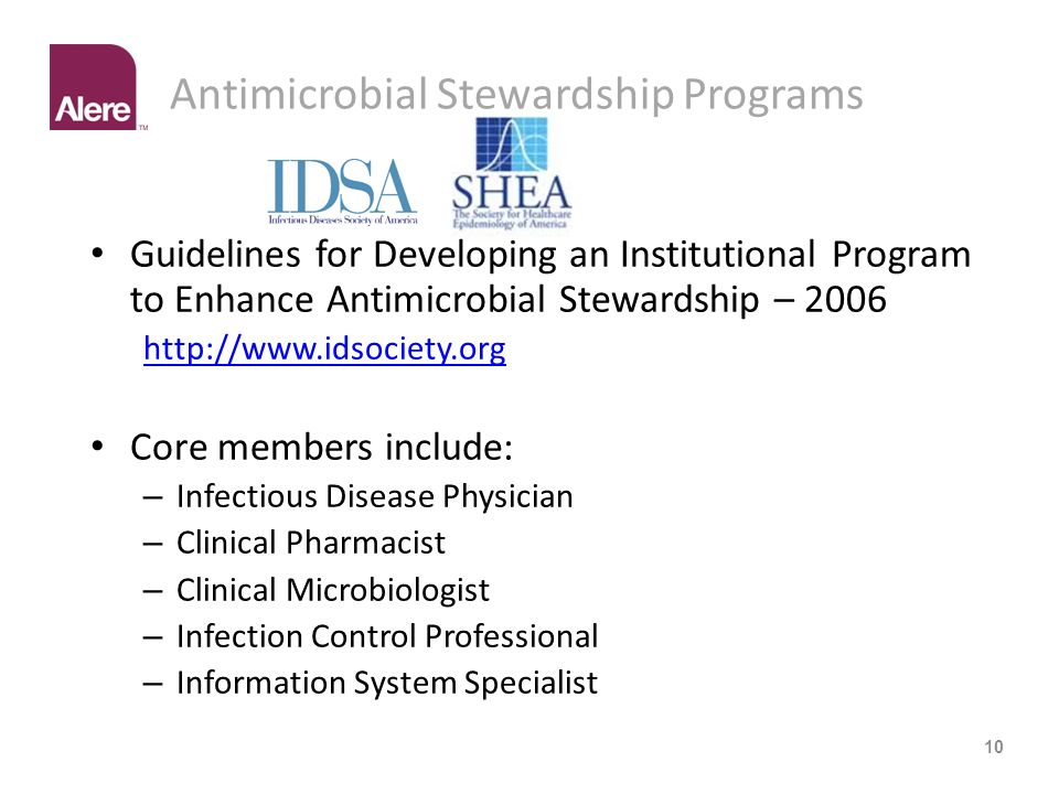 Antimicrobial Stewardship Programs