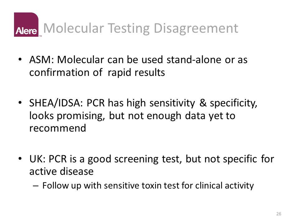 Molecular Testing Disagreement