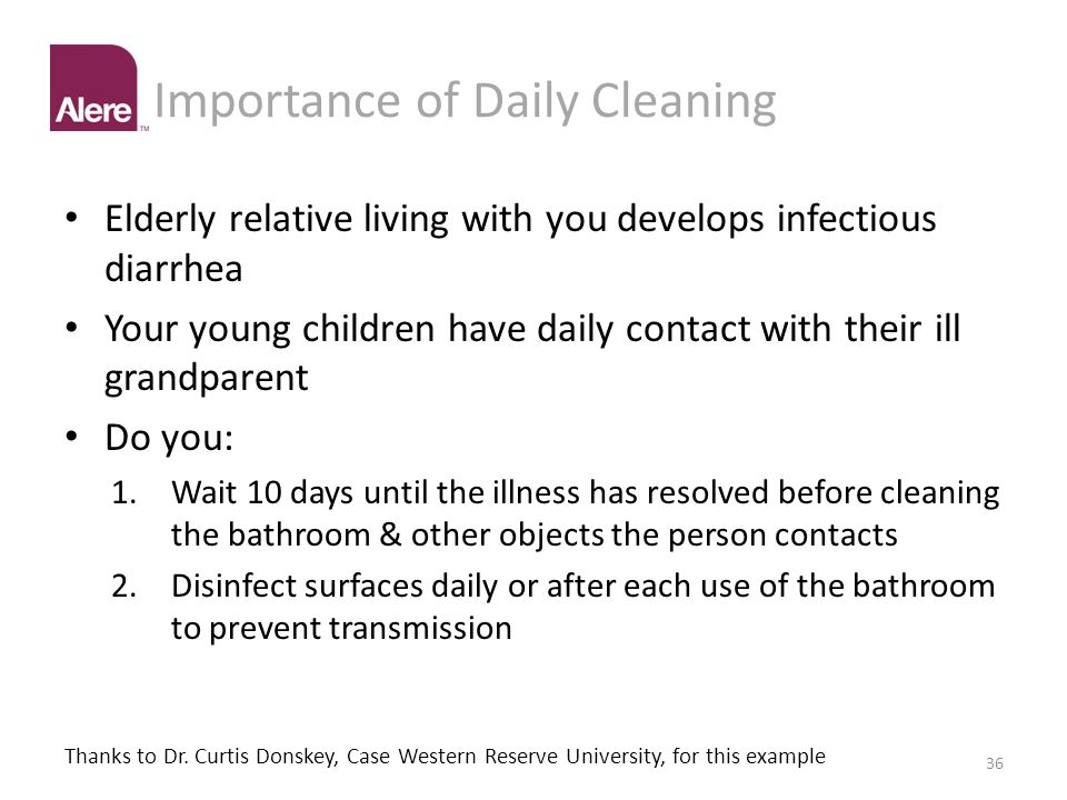 Importance of Daily Cleaning
