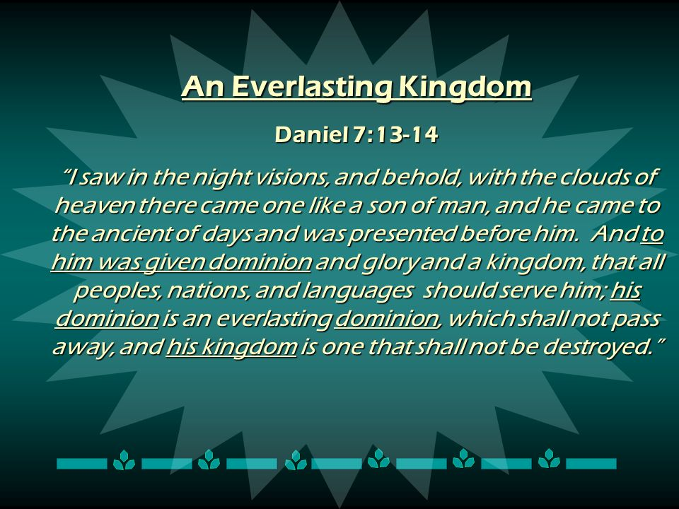 An Everlasting Kingdom