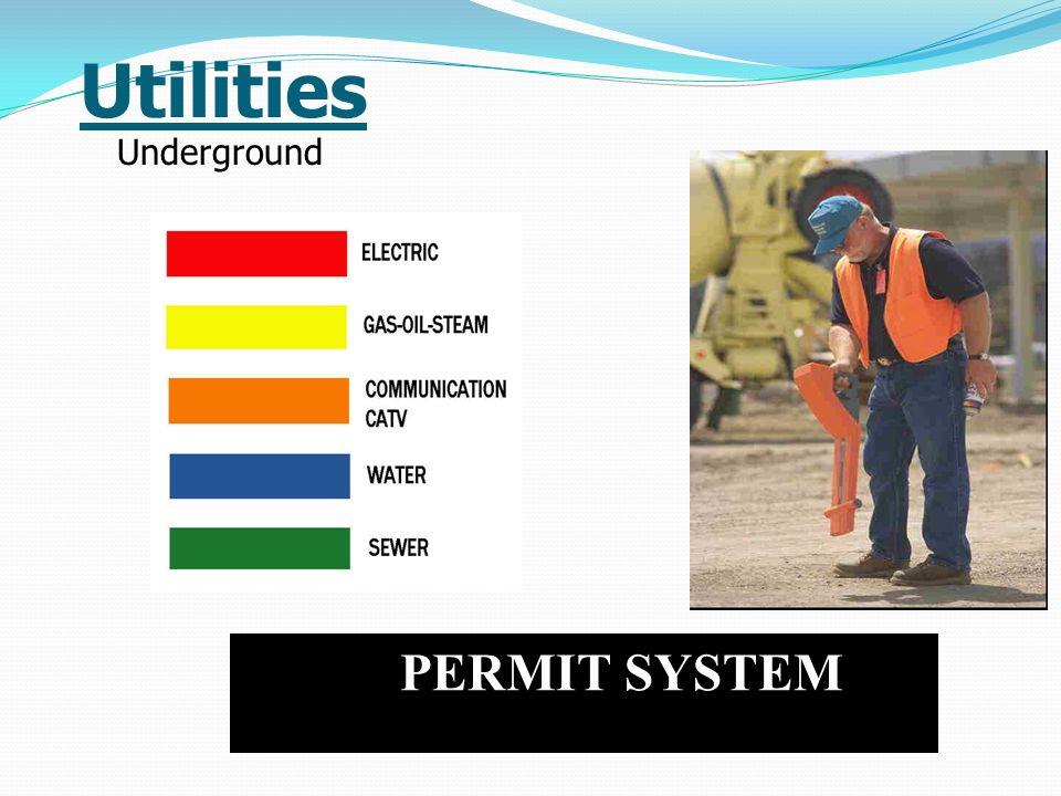 Utilities Underground PERMIT SYSTEM