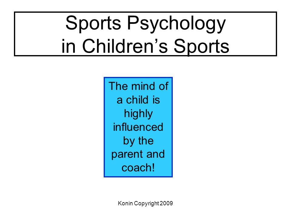 Sports Psychology in Children's Sports