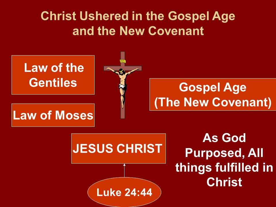 Christ Ushered in the Gospel Age and the New Covenant