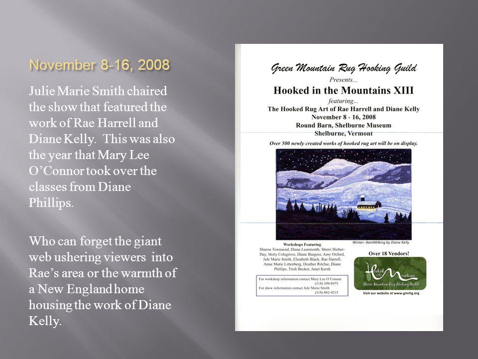 November 8-16, 2008
