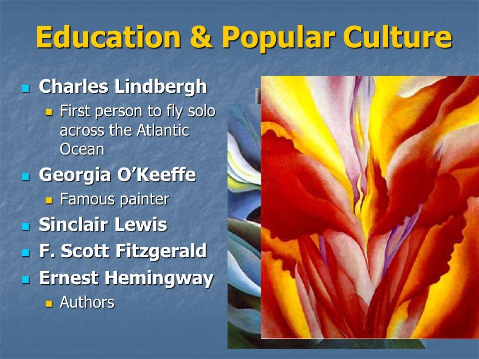 Education & Popular Culture