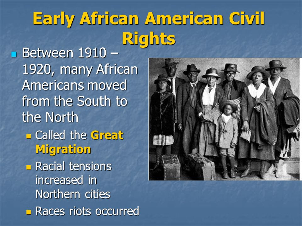 Early African American Civil Rights