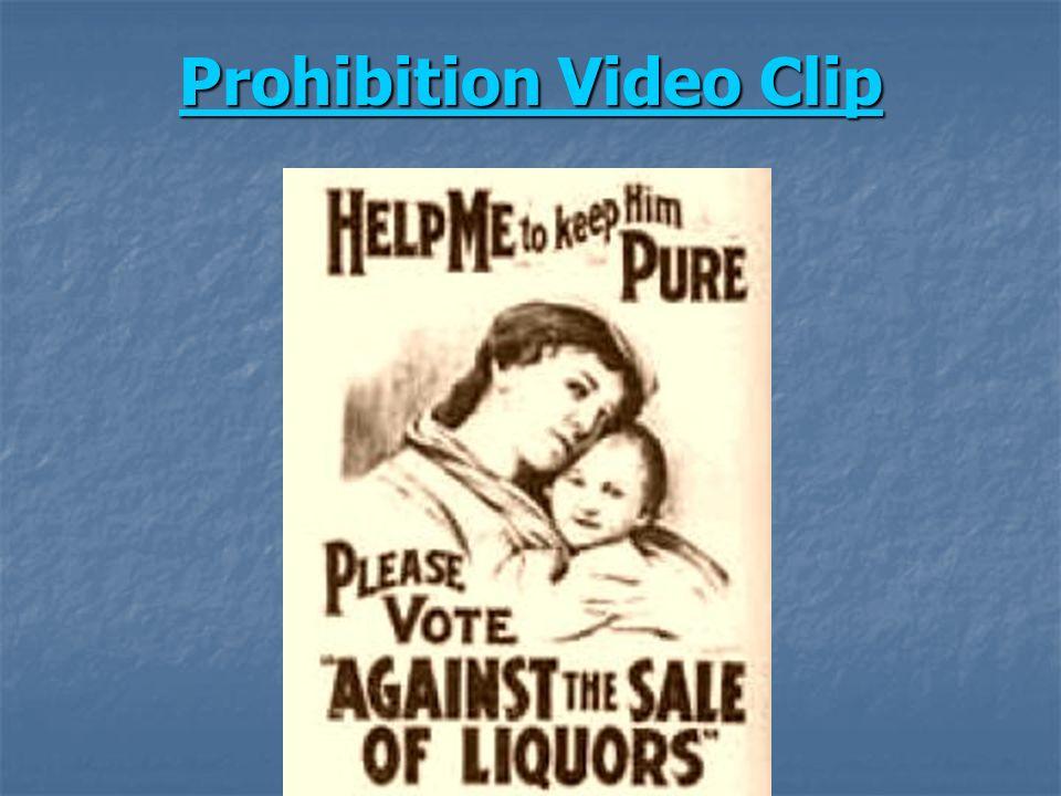 Prohibition Video Clip