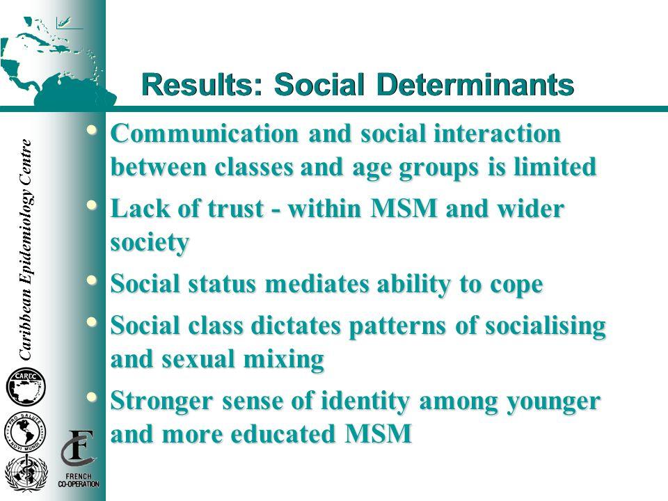 Results: Social Determinants