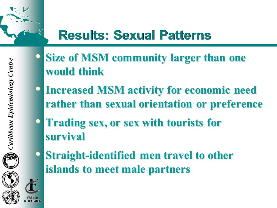 Results: Sexual Patterns