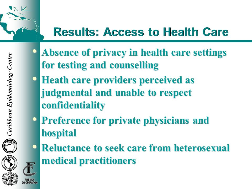 Results: Access to Health Care