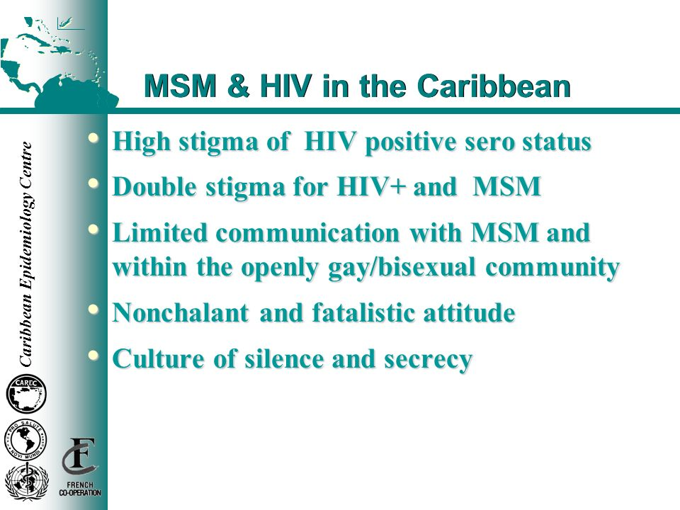 MSM & HIV in the Caribbean
