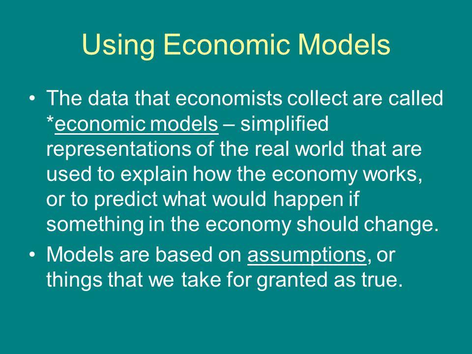 Using Economic Models