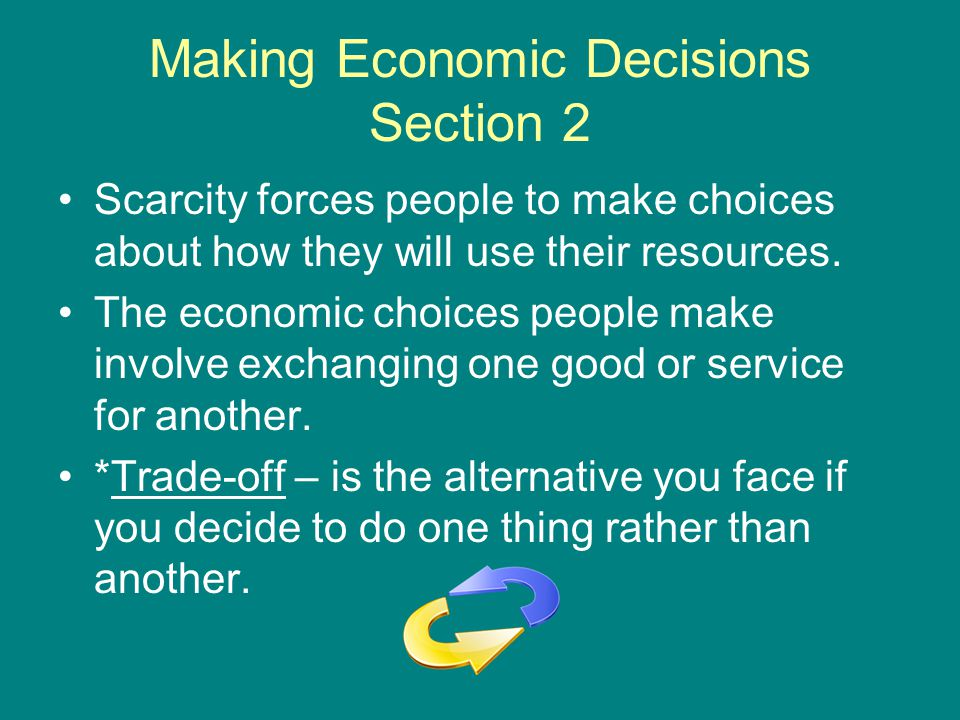 Making Economic Decisions Section 2