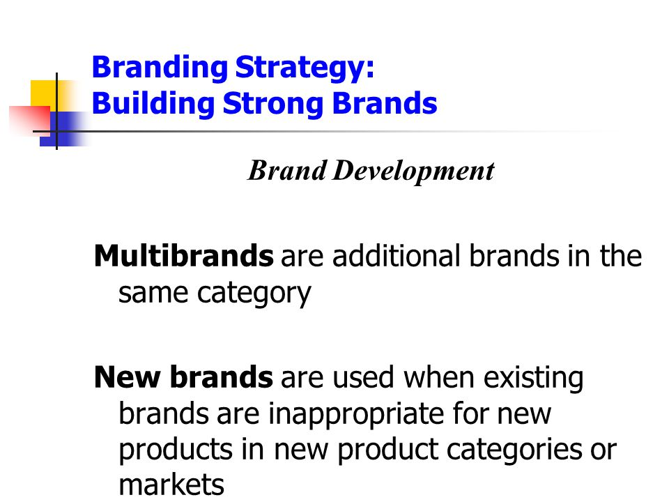 Branding Strategy: Building Strong Brands