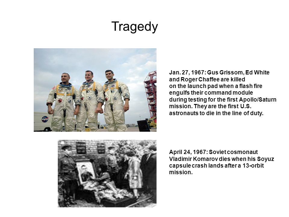 Tragedy Jan. 27, 1967: Gus Grissom, Ed White