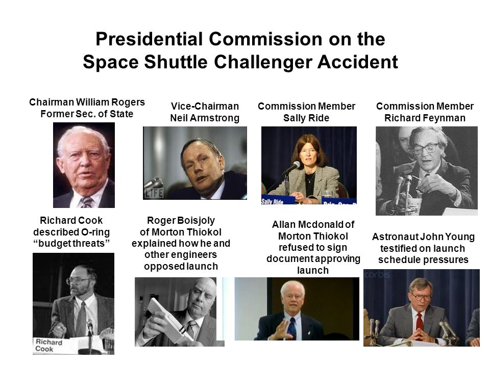 Presidential Commission on the Space Shuttle Challenger Accident