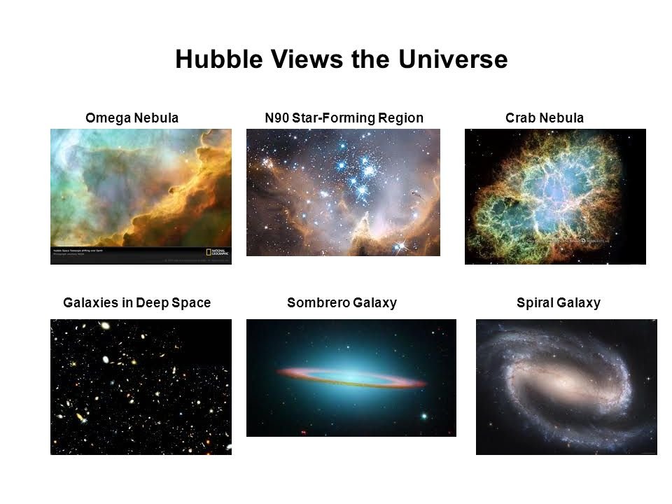 Hubble Views the Universe
