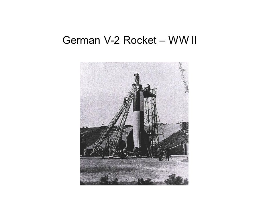 German V-2 Rocket – WW II