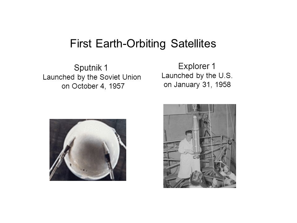 Launched by the Soviet Union