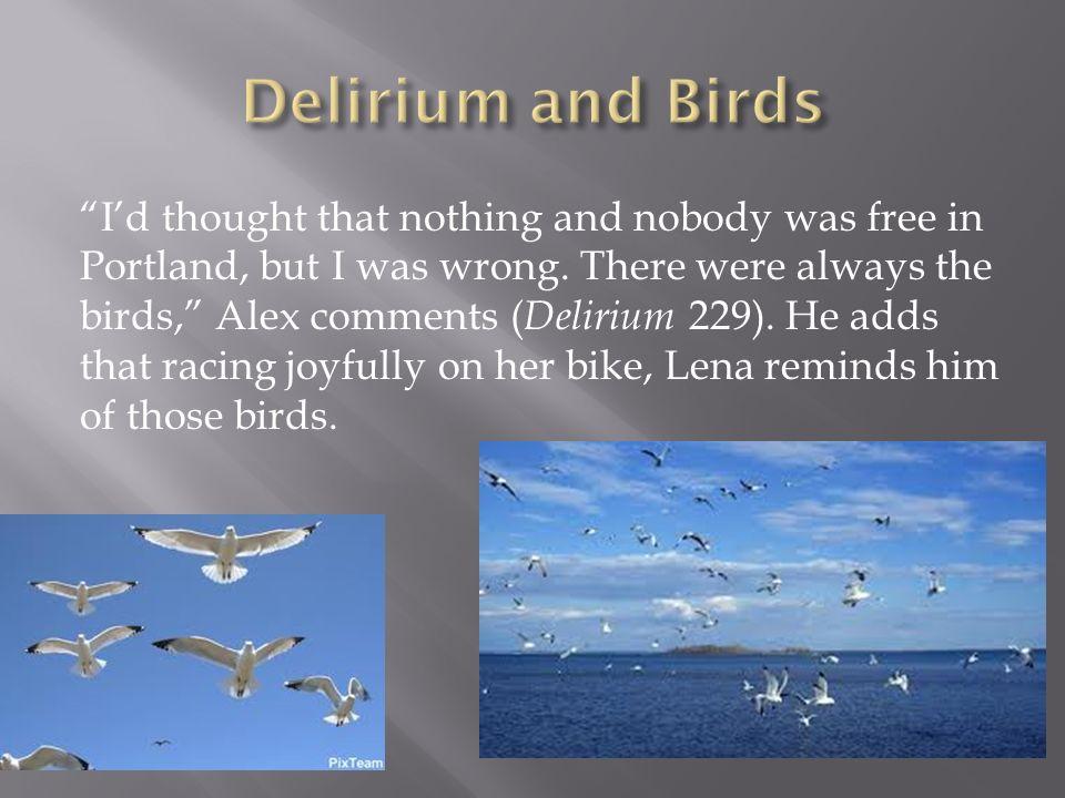 Delirium and Birds