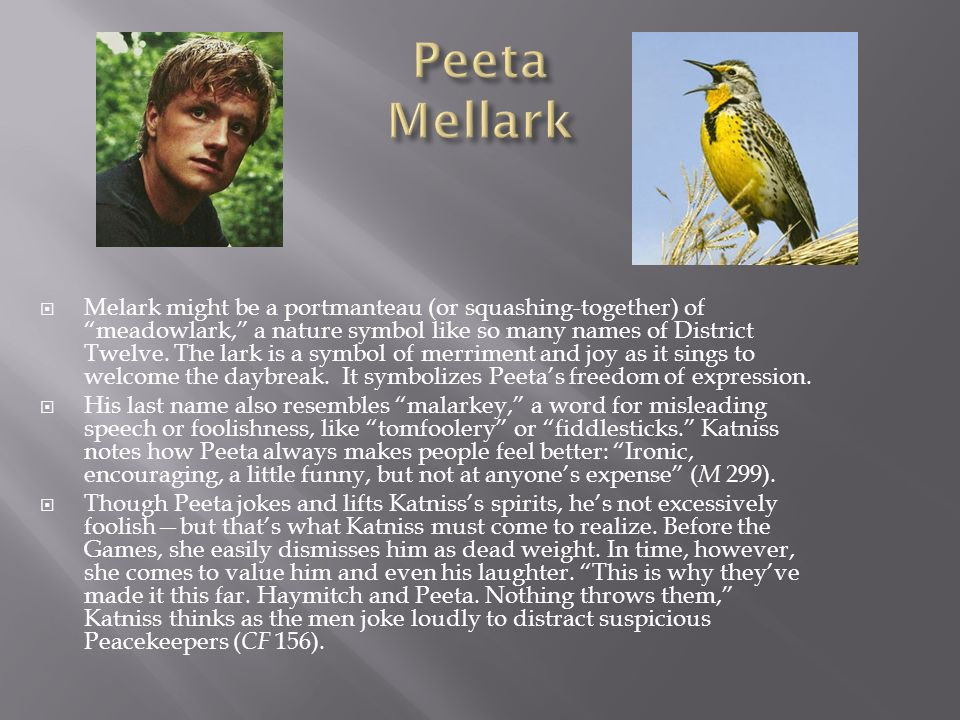 Peeta Mellark