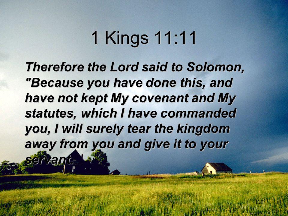 1 Kings 11:11