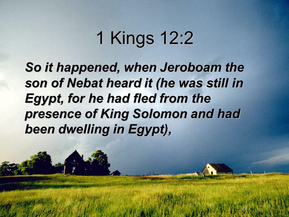 1 Kings 12:2