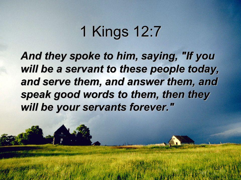 1 Kings 12:7