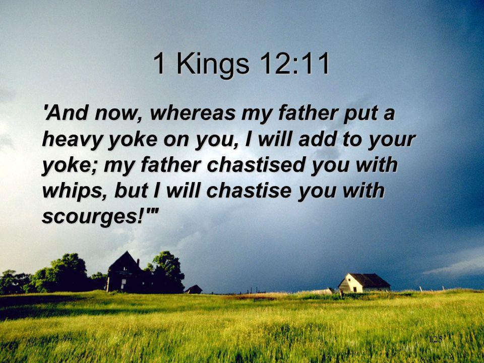 1 Kings 12:11