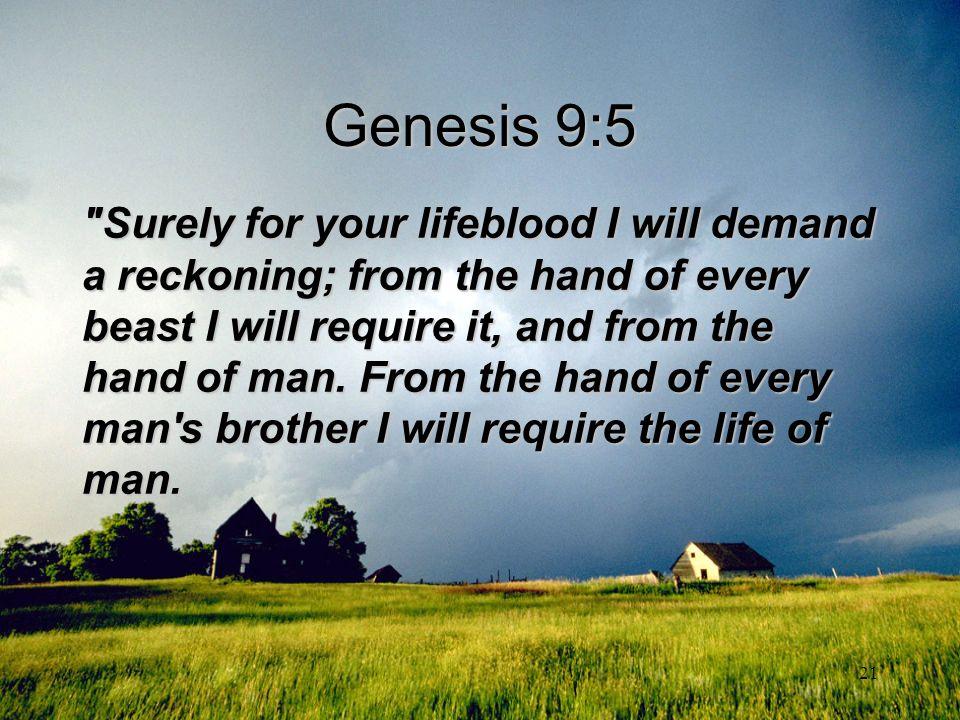 Genesis 9:5